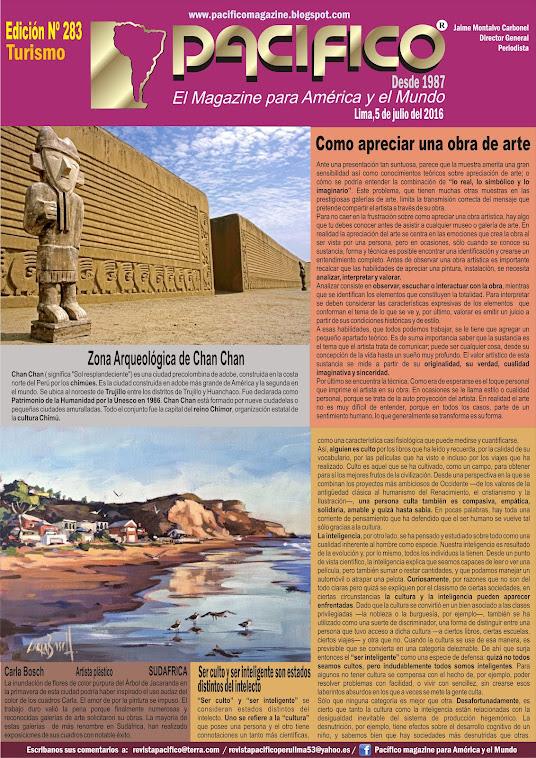 Revista Pacífico Nº 283 Turismo
