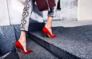 Kurt Geiger Elliot Red Shoes