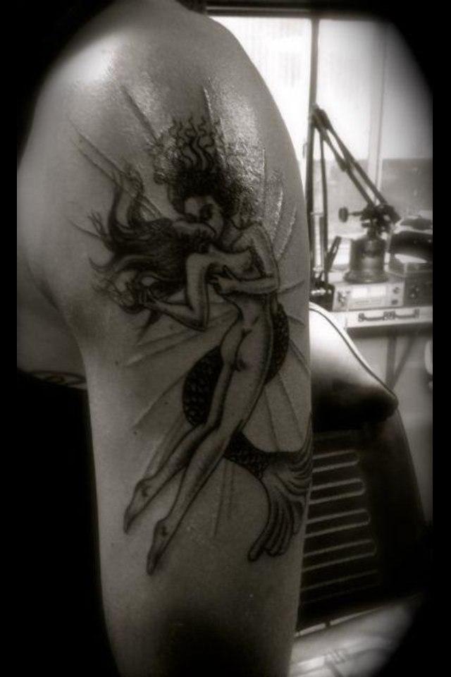 тату с изображением девушек - Татуировка с изображением лица девушки Уникальная