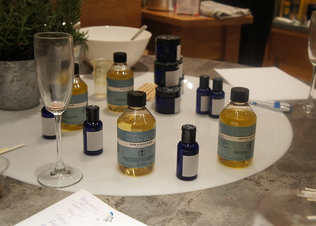 Neal's Yard Remedies Create Your Own & Super Foods Event