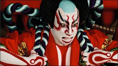 Lets Talk Musicals Make A Face Japanese Kabuki Makeup - Kabuki-makeup