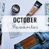 My October Favorites!
