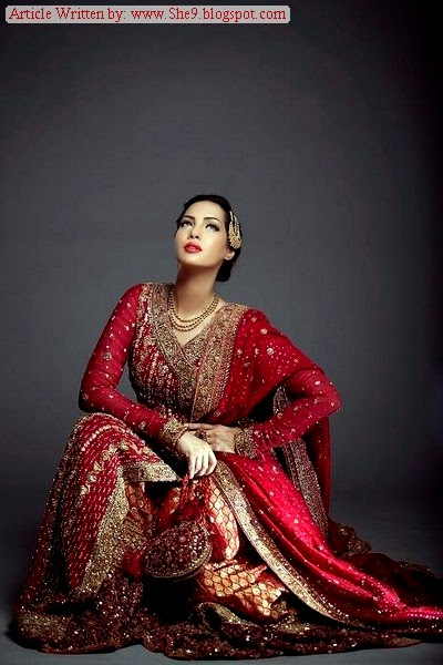 Mifrah Angrakha/Angarkha Bridal Dress
