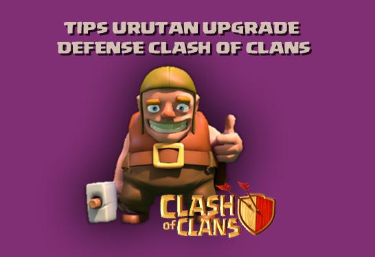 Urutan Upgrade COC