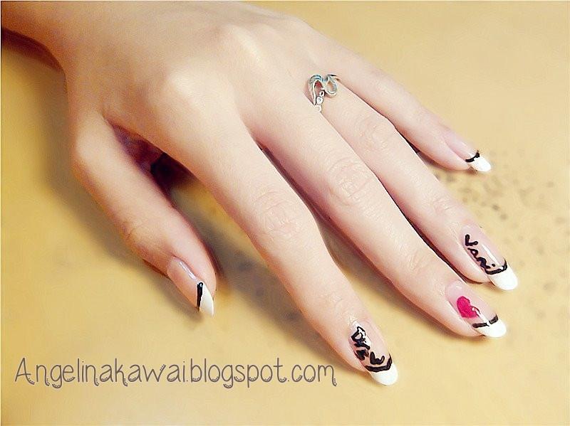 Angelkawai's Diary: My Simple + Cute Nail Art