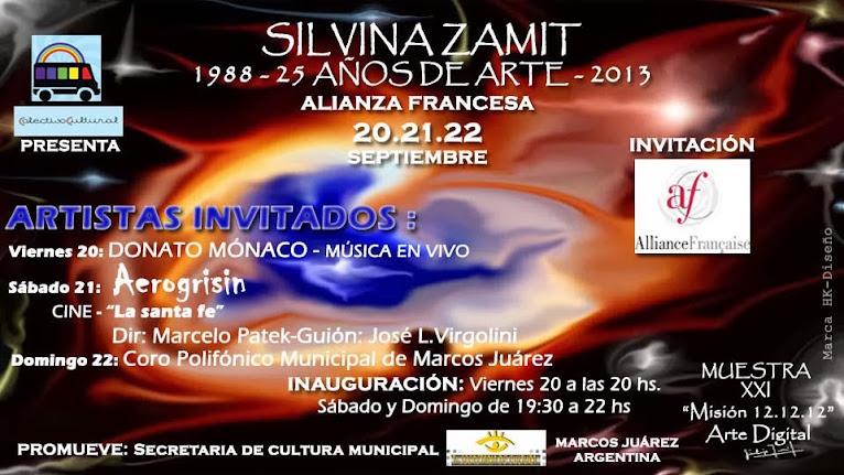 1988 -25 AÑOS DE ARTE - 2013