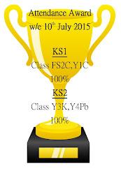 Attendance Trophy