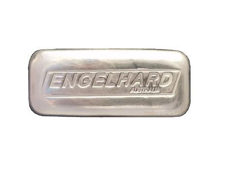 Engelhard Australia Engelhard 10oz .999 Silver Cast Bullion Bar