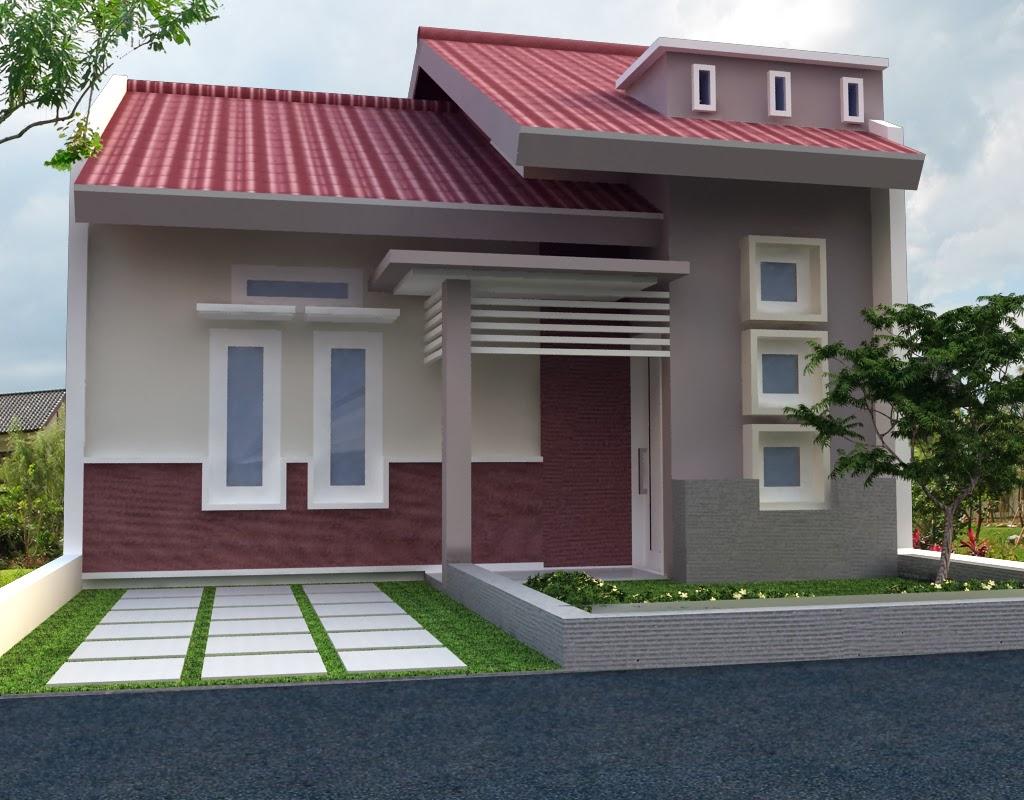 Gambar Rumah Minimalis Satu Lantai Modern