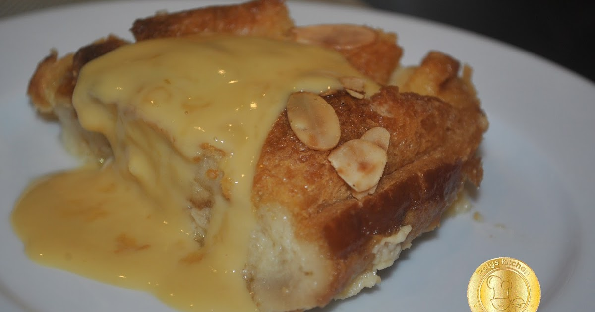PATY'SKITCHEN: ALMOND BREAD BUTTER PUDDING