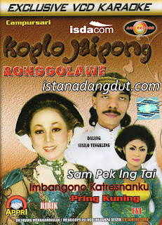 cover album, campursari, kesenian indonesia, campursari koplo jaipong ronggolawe