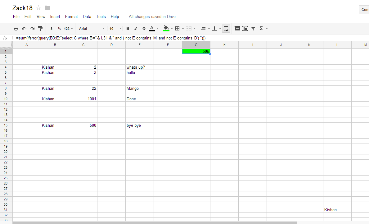 how to join data in cells in google spreadsheets