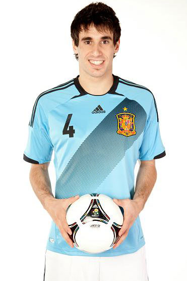 segunda camiseta España Eurocopa 2012 camiseta azul selección española