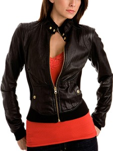 Leather Jacket Women Cheap And Trendy | harley davidson leather ...