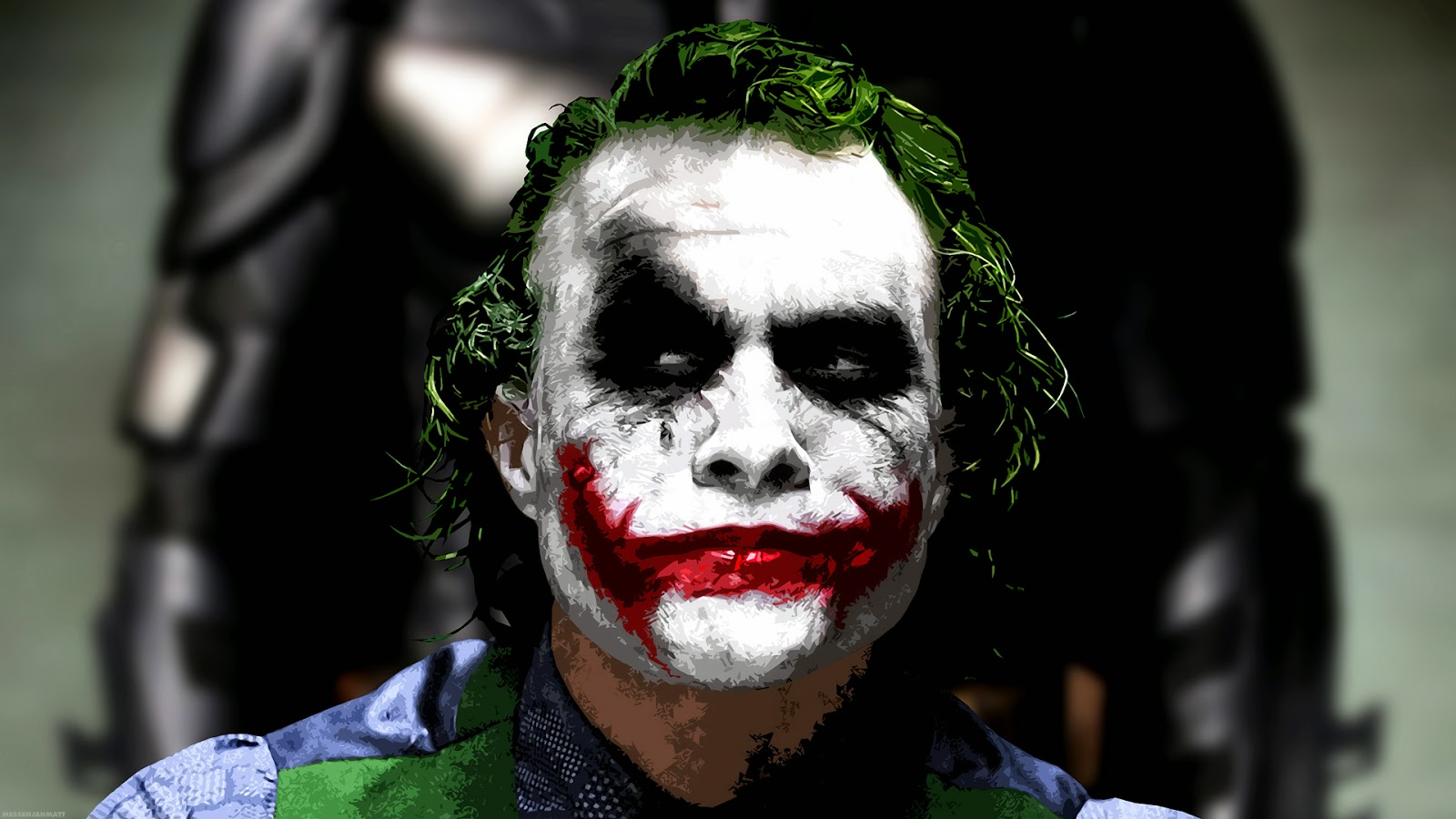 Batman Heath Ledger interpreta Joker