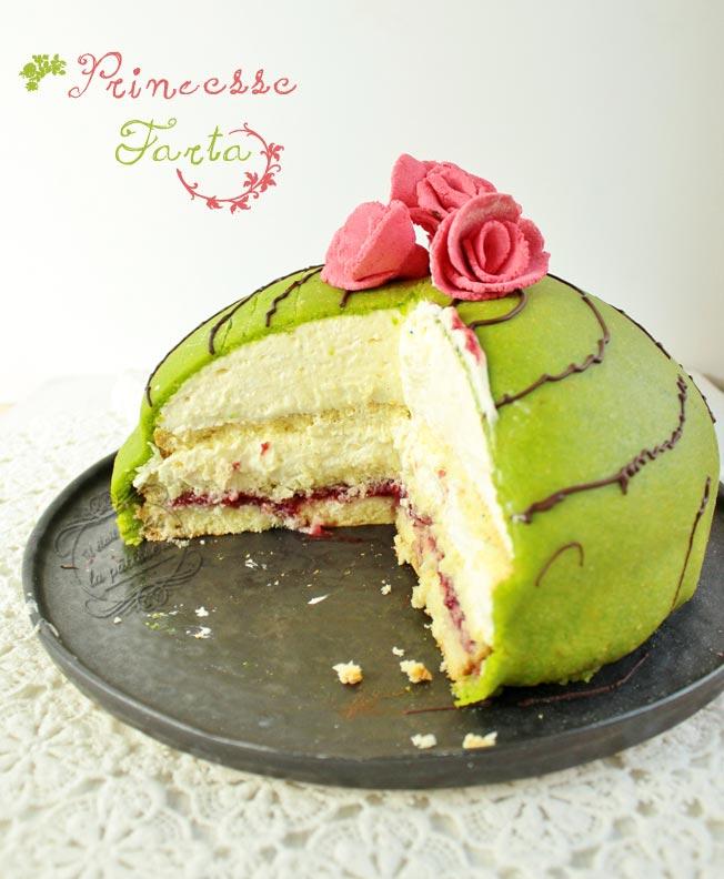 gâteau prinsesstårta : il était une fois la pâtisserie
