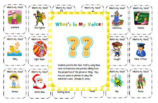 , What's My Voice?