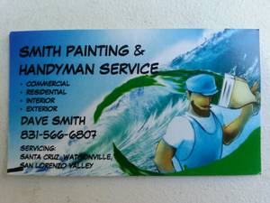 Dave Smith Painting  (831) 566-6807