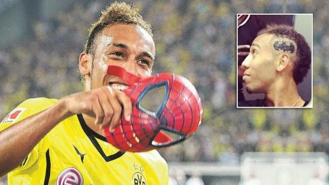 Enko-football: Aubameyang after Spider-Man, now with a ... Pierre Emerick Aubameyang Spiderman