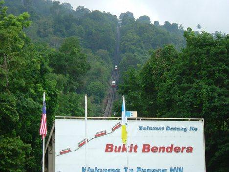 Interesting Places In Malaysia Penang Hill Bukit Bendera Pulau Pinang Malaysia