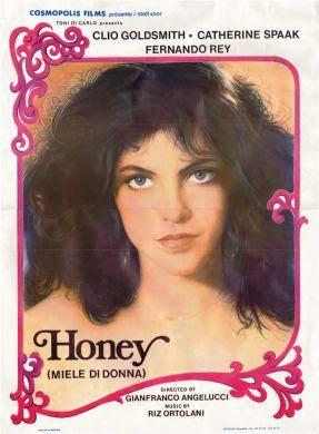 Dulce piel de mujer (1981). pelicula honey poster