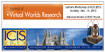 Save the Date: JVWR Workshop at ICIS 2013 Milan, Italy December,15