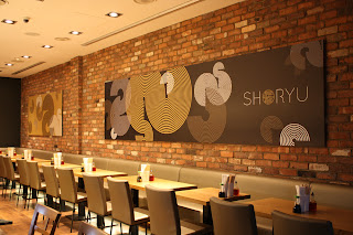 Interior at Shoryu Ramen, 9 Lower Regent Street, London SW1Y 4LR