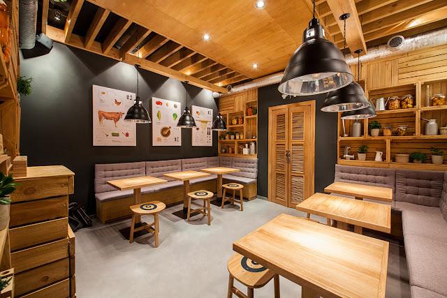 Simple cositas decorativas estudio de decoraci n de for Sillas para local de comidas rapidas