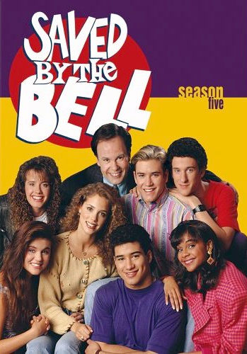 saved by the bell season 5 dvd cover tori paradox