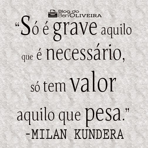 Resenha A Insustentável Leveza Do Ser Milan Kundera