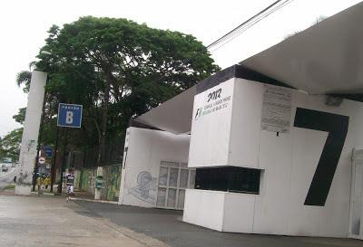 A entrada para o Autódromo de Interlagos foi feita pelo portão 7.