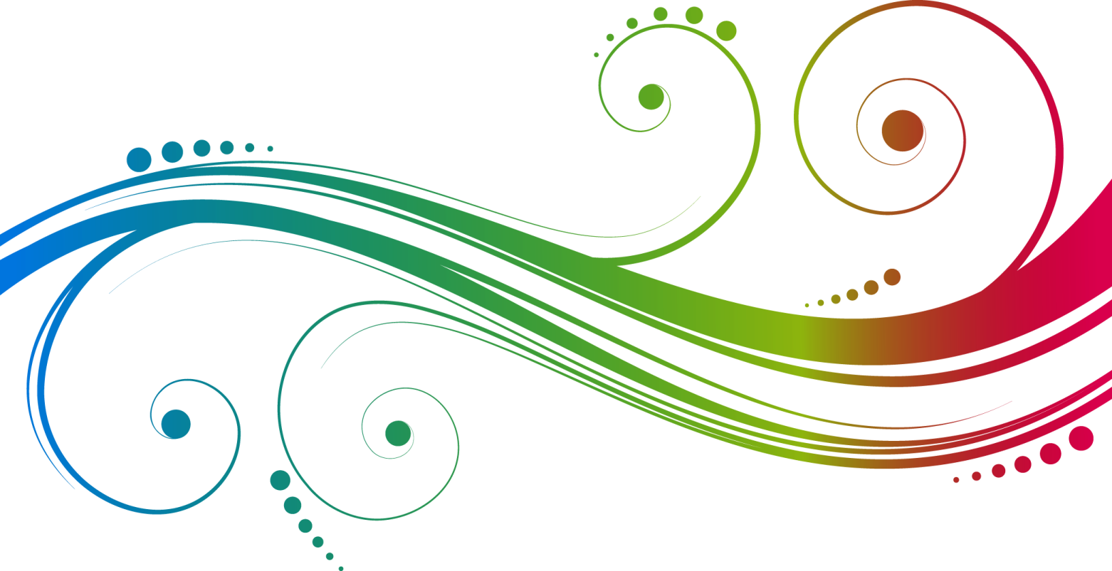 Color Line Design : Vector swirl effects lunafy tutorial