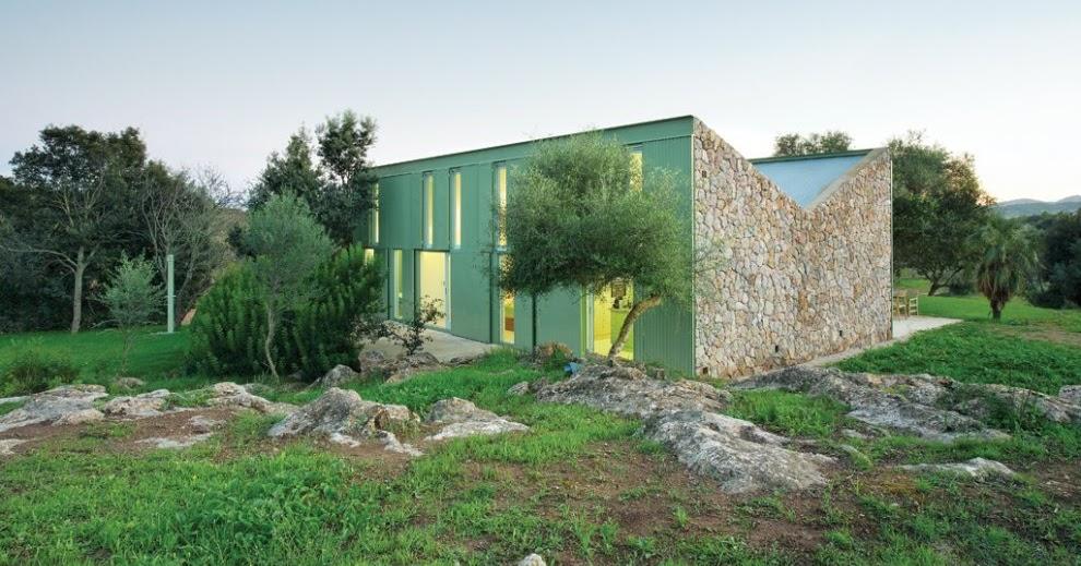 A vz haus in der landschaft arta spanien for Haus in spanien