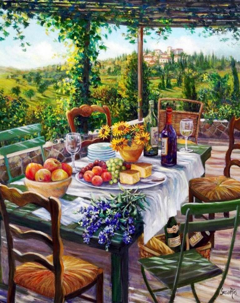 Cuadros pinturas oleos paisajes decorativos pintora - Oleos decorativos ...