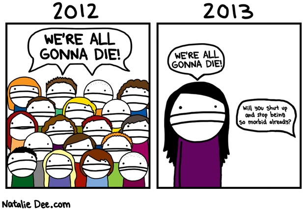 Cranky Fitness: Goodbye, 2012!