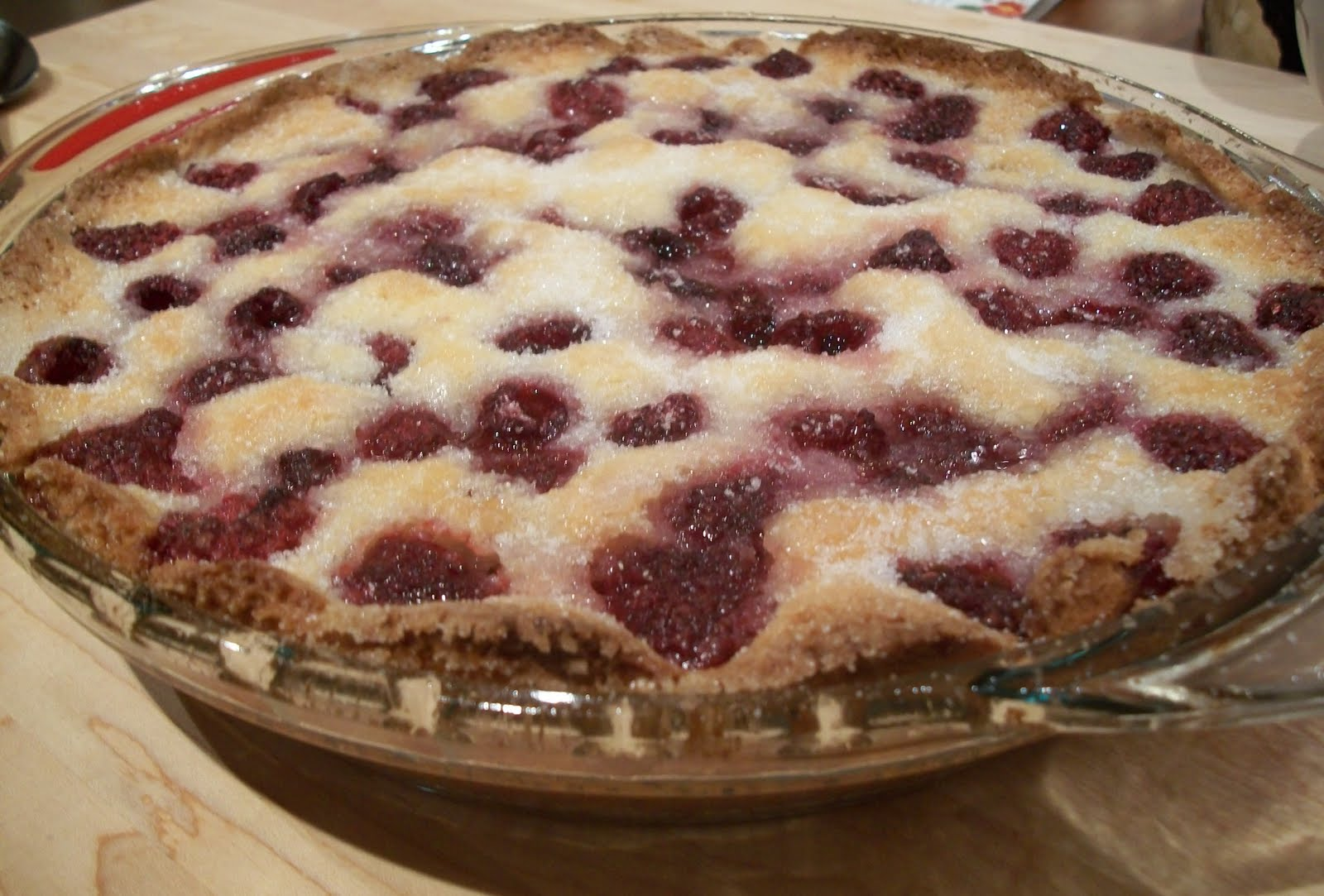 Lemon Drop: PW's Raspberry Cobbler