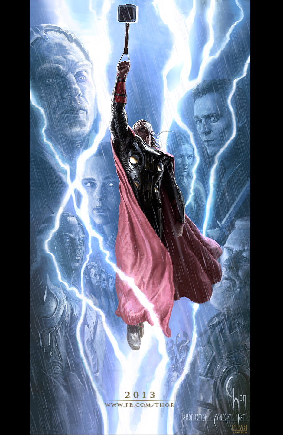 Thor: The Dark World concept art