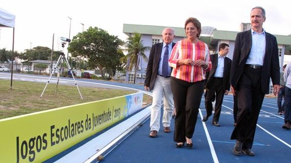 Ministro Aldo Rabelo inaugura Centro de Atletismo de Alto Rendimento e recebe título de cidadão norteriograndense