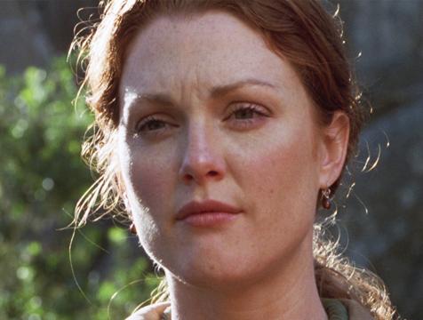 Sarah Harding (Julianne Moore) en El mundo perdido. Jurassic Park - Cine de Escritor