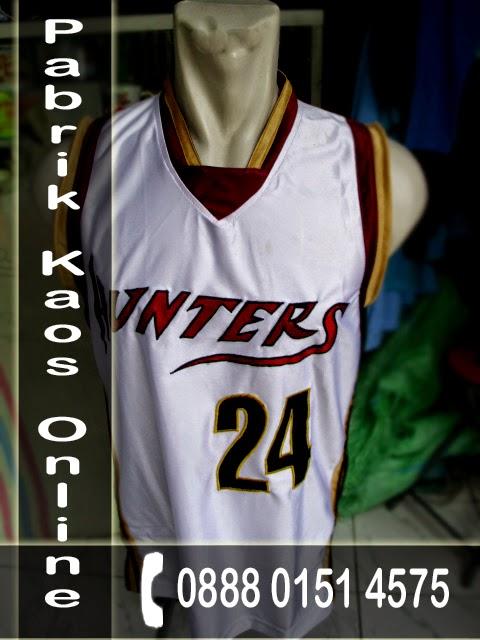 Kaos Basket, Pembuatan Jersey Basket Murah, Jasa Pembuatan Jersey Basket Surabaya
