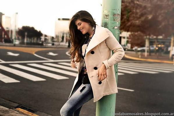 Moda otoño invierno 2014 abrigos. AF Jeans tapados otoño invierno 2014.