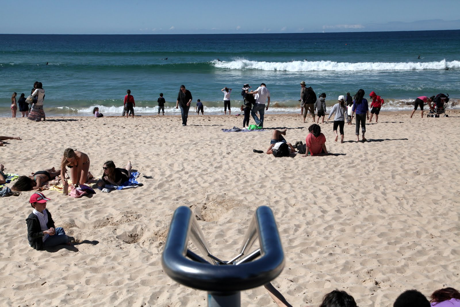 Sydney Eye: Manly Beach cf Bondi Beach