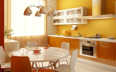 Muebles de una hermosa cocina integral en ideas para el hogar
