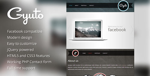 Beautiful Premium Facebook Templates