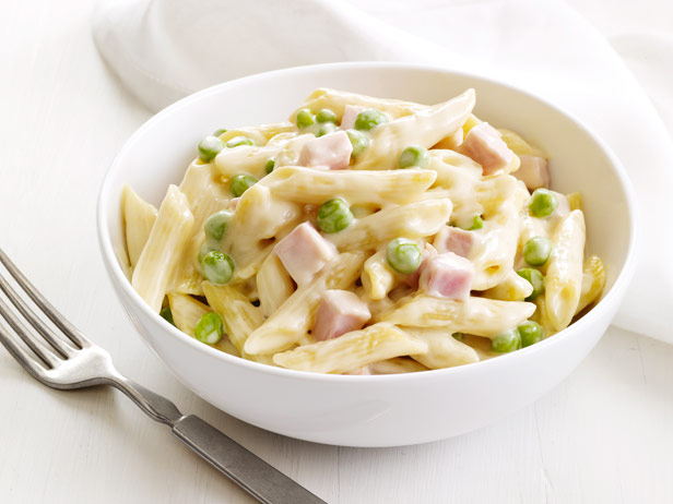 My Favorite Things: Four-Cheese Pasta With Peas and Ham