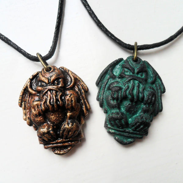 propnomicon cthulhu necklace