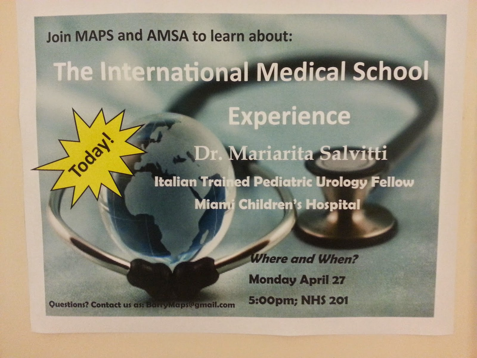 the international medical school experience