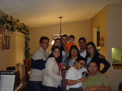 familia americana reunida