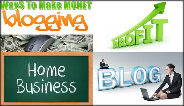 Best Ways Make Money With Blogging Through Google And 5 Profitable Work For Home Tips And Tricks