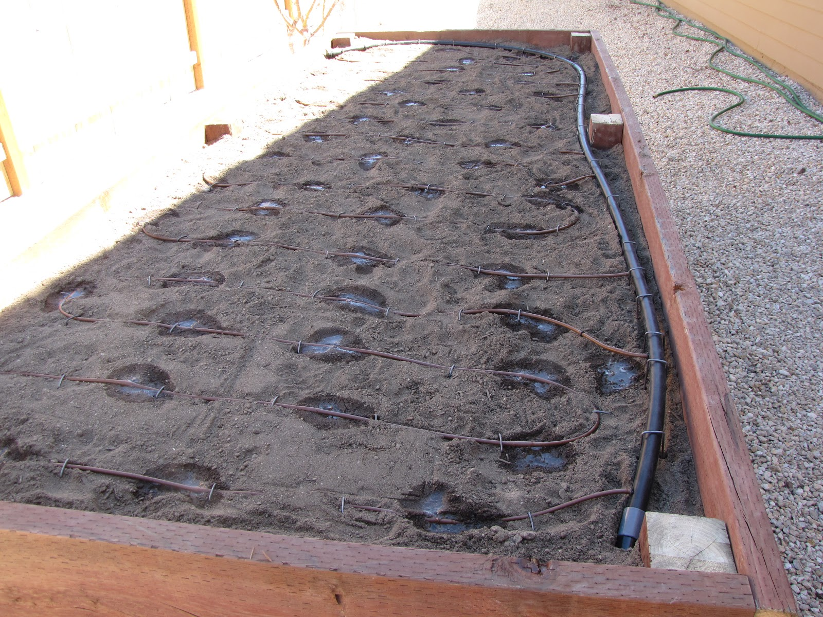 the art of landscaping how to build a raised planter bed for vegetables